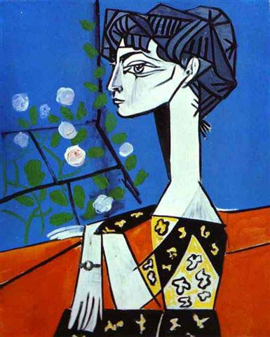 Portrett av Jacqueline Roque, Pablo Picasso