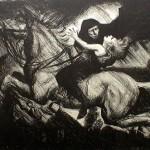 Der Erlkonig, bildet av Albert Sterner (1863–1946)